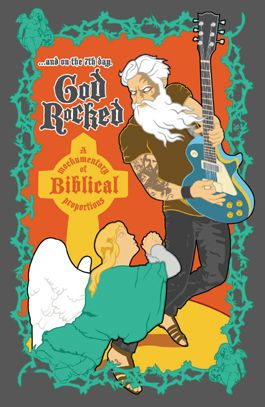 ...and on the 7th day, God Rocked poster